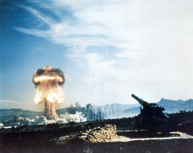 A 1953 nuclear weapons test