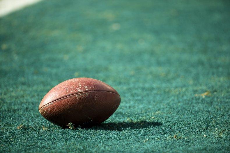 High school football player dies