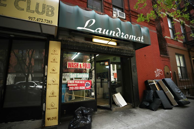 NYC Laundromat During COVID-19