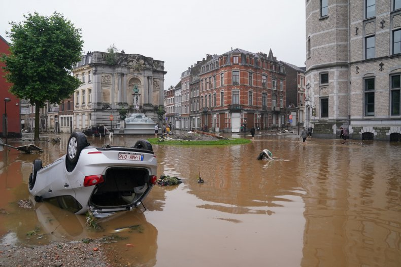 Flooding in Europe