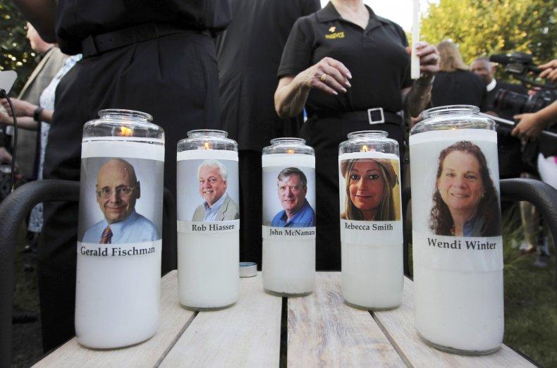 Newspaper Shooting Memorial
