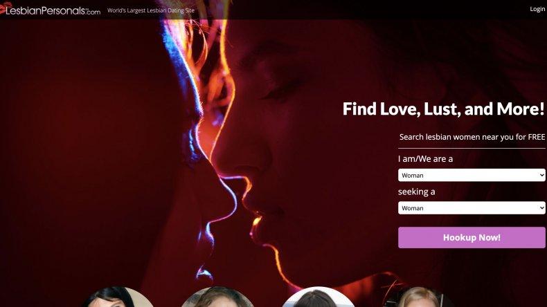 Lesbian personals website