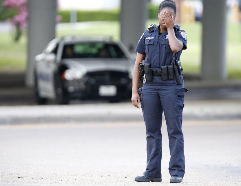 SWAT team leader killed officers injured Texas