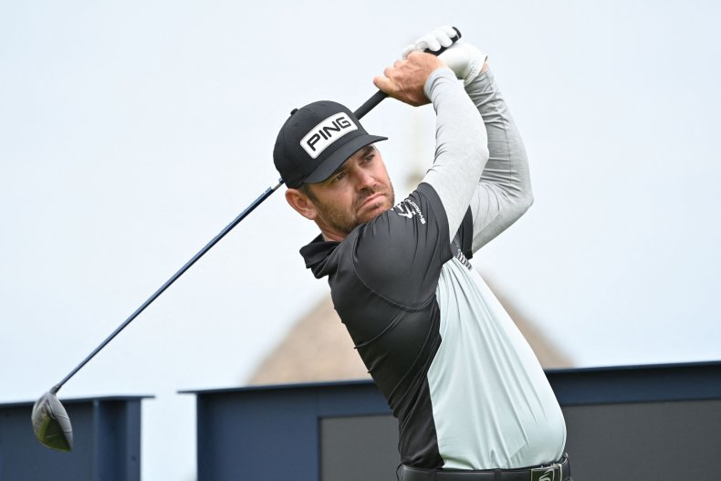 Louis Oosthuizen at The Open Championship