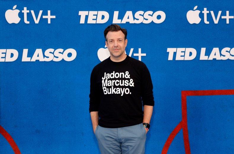 Jason Sudeikis at Ted Lasso premiere