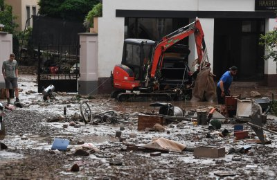 Europe wakes up to devastation from floods