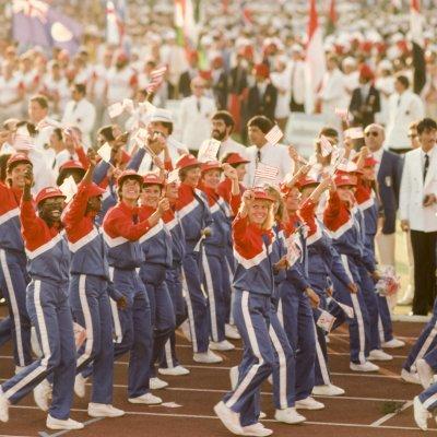 Opening ceremony Los Angeles 1984