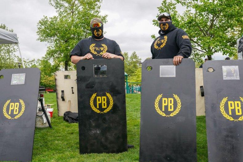 Proud Boys security Oregon