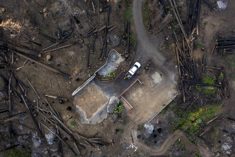 Wildfires rage on in U.S.