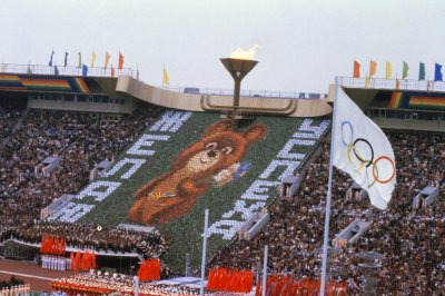 Moscow Olympics opening ceremony