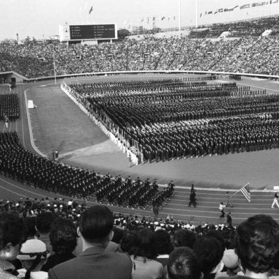 Tokyo 1964 opening ceremony