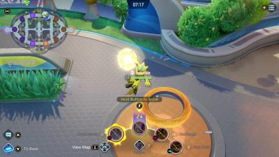 Pokemon Unite Gameplay Screenshot