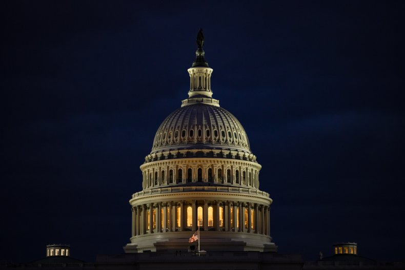 The U.S. Capitol Pictured on January 17
