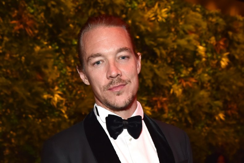 Music producer Diplo
