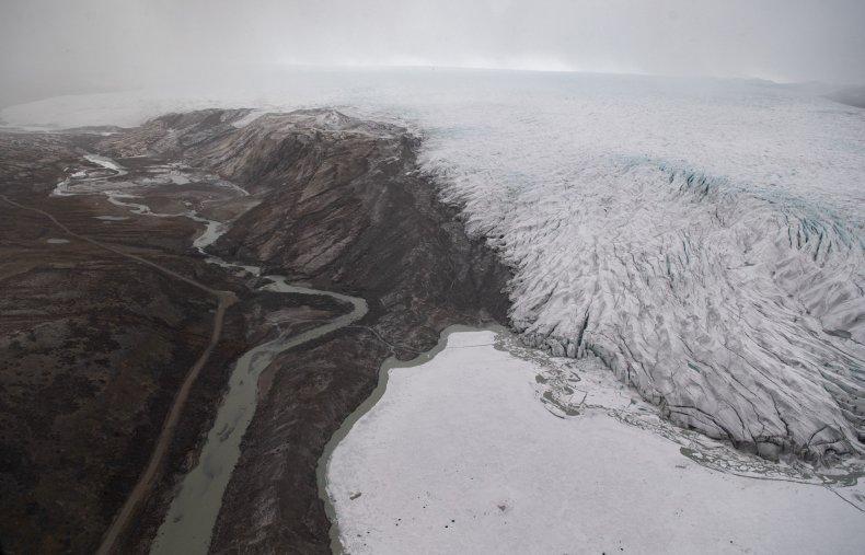 Receding Ice in Greenland