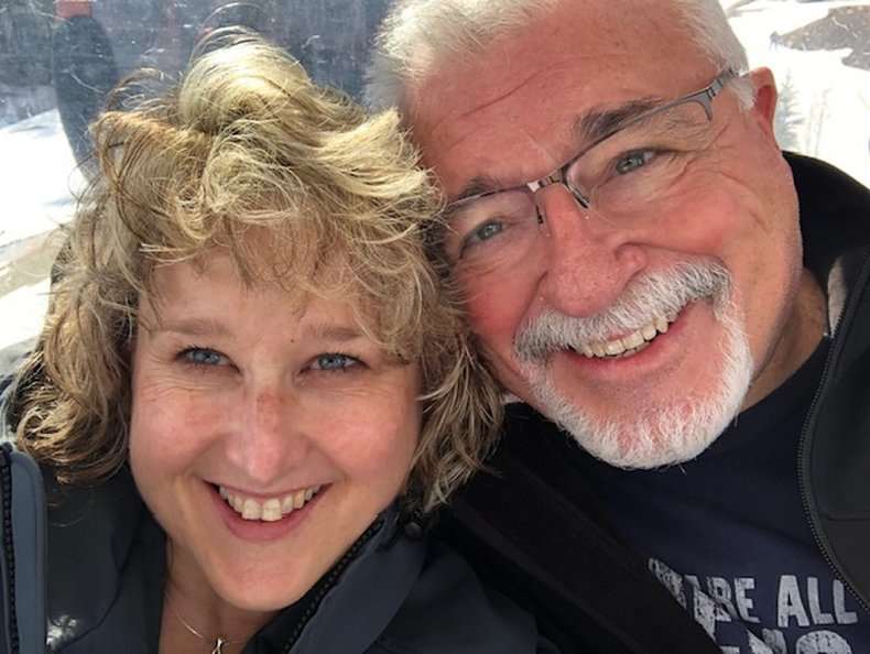 Selfie of Gary and Melissa