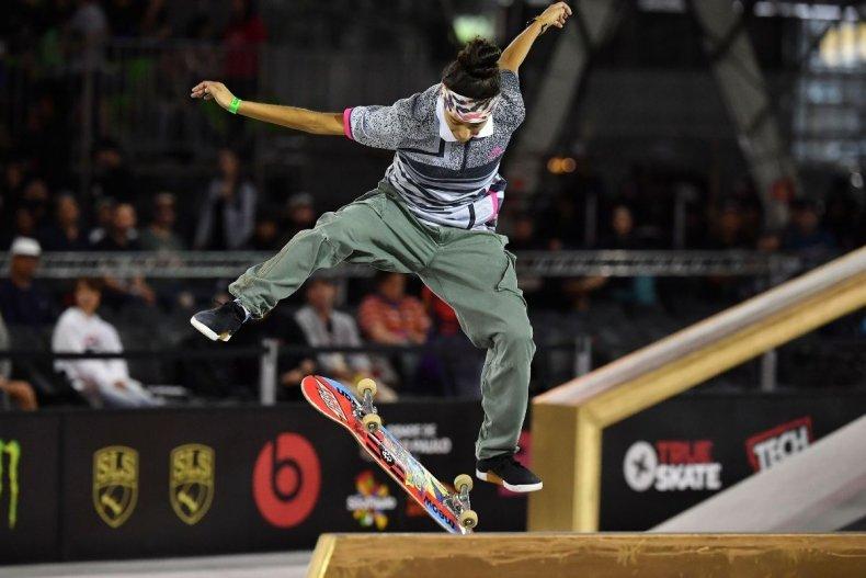 American skateboarder Maria Duran