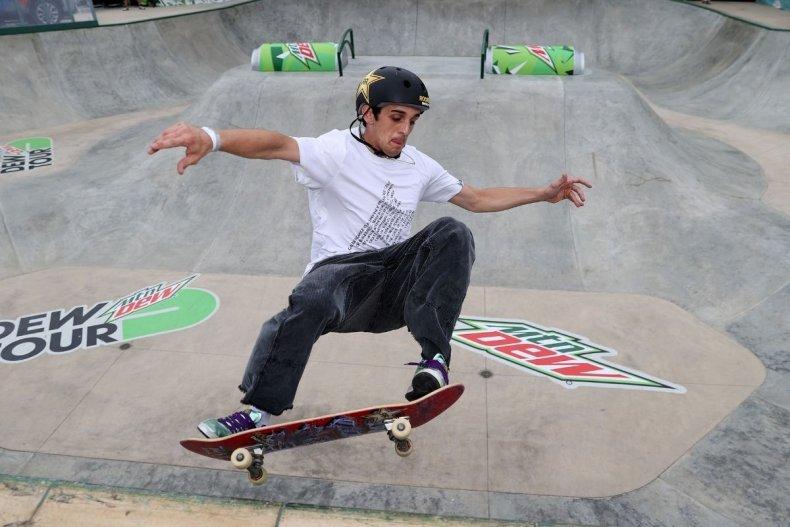 American skateboarder Corey Juno