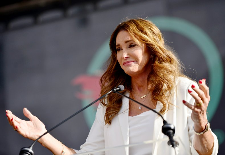Caitlyn Jenner campaign film crew