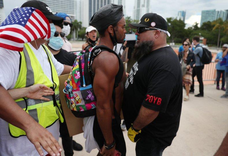 White Supremacist Group Awards Violence