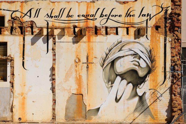 Mural painting and graffiti