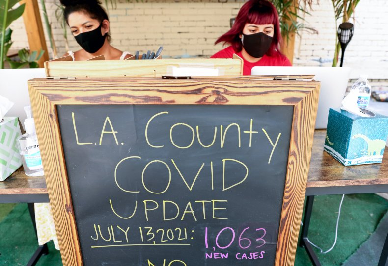Covid Cases Rise In Most States As