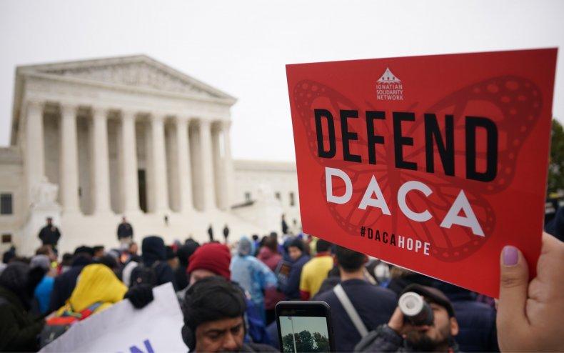 Pro-DACA rally