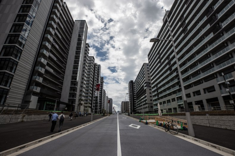Olympic village in Tokyo