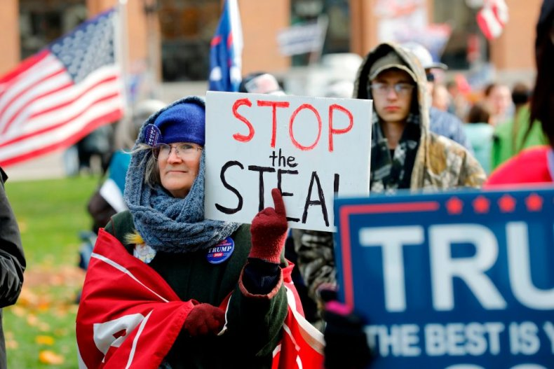 Stop the Steal rally in Michigan