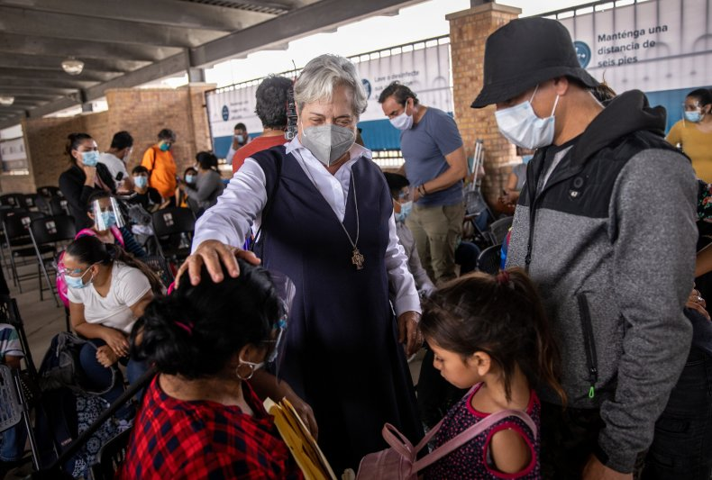 Catholic Charities Bishop Seitz, Flores migrant children