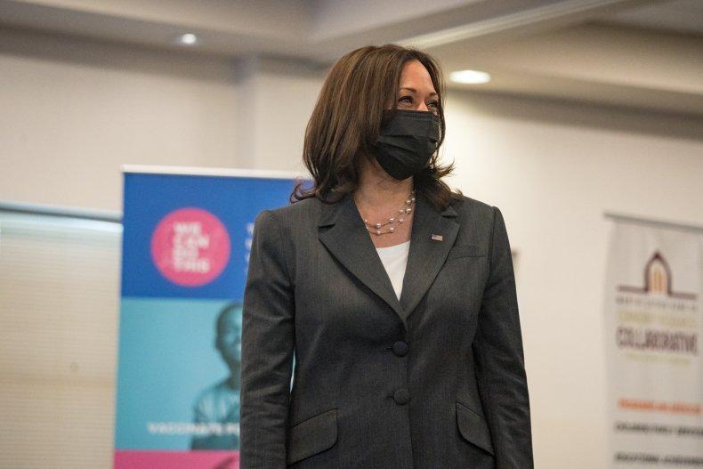 Kamala Harris not a risk coronavirus Democrat