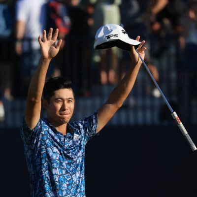 Collin Morikawa at The Open Championship