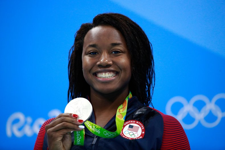 Simone Manuel at the 2016 Olympic Games.