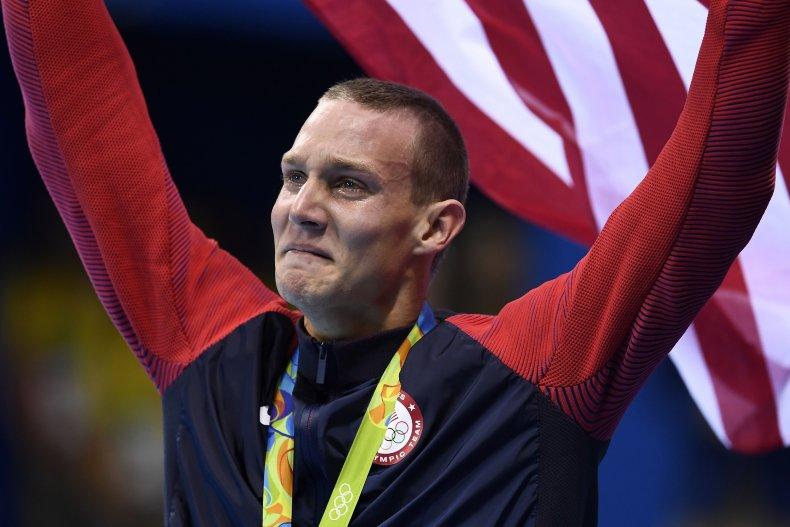 Caeleb Dressel at 2016 Olympic Games.