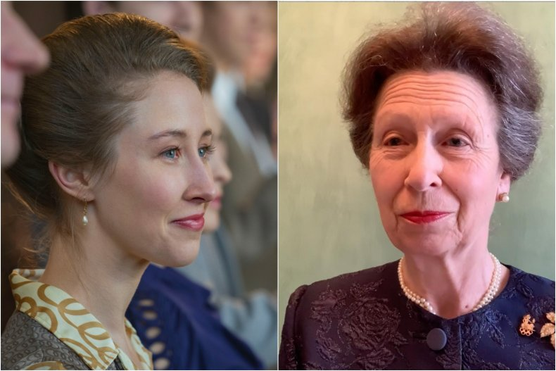 Real Princess Anne Vs The Crown