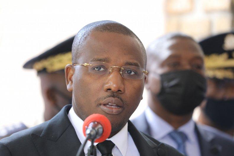Haitian Interim Prime Minister Claude Joseph