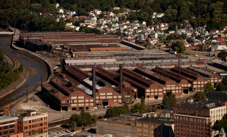 A view of Johnstown, Pennsylvania