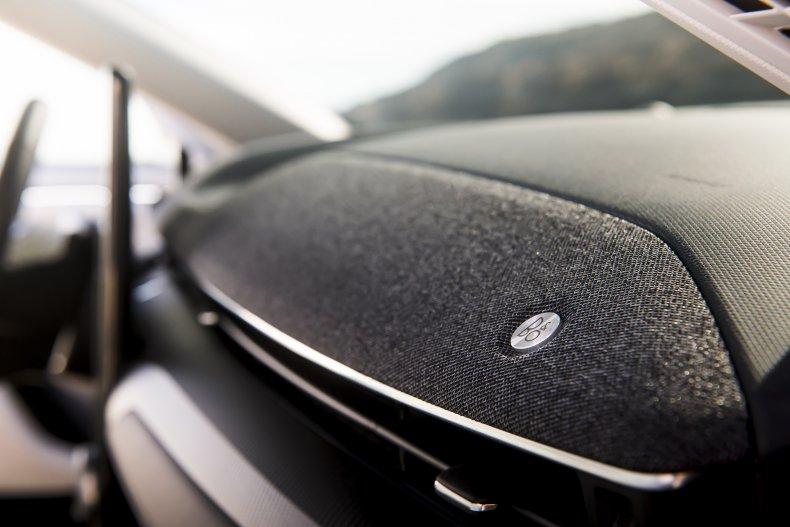 2021 Ford Mustang Mach-E vent speaker
