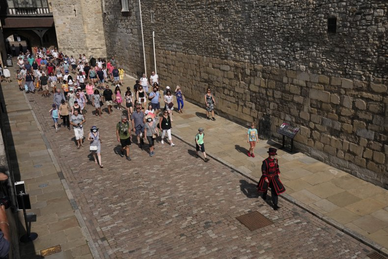 First Tower of London Tour in Months