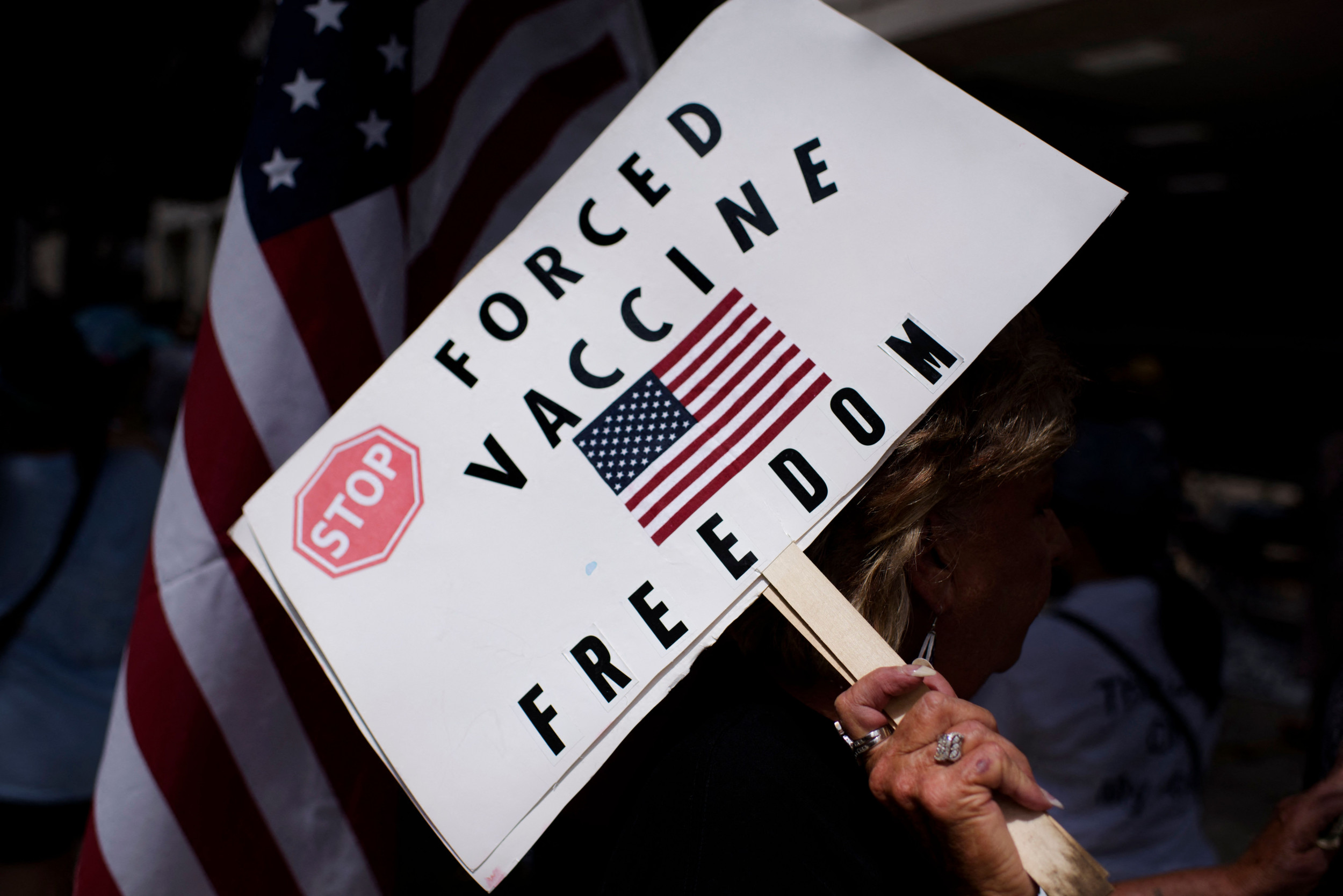 A new survey from YouGov and The Economist released Thursday reveals a startling number of Americans will not get vaccinated due to concerns about sid