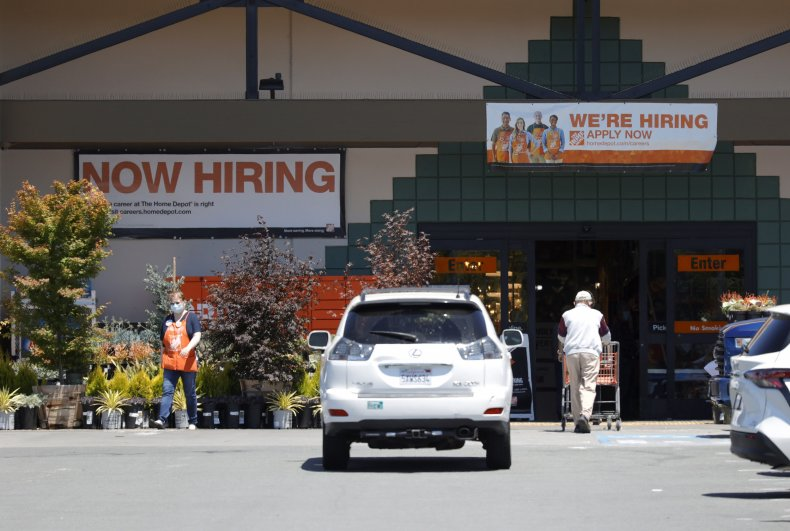 """""""Now Hiring"""" Signs in California"""