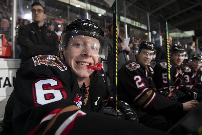 Gay NHL Prospect Luke Prokop