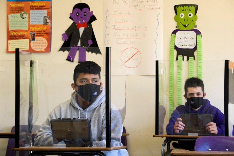 NIH Director Backs Masking In Schools