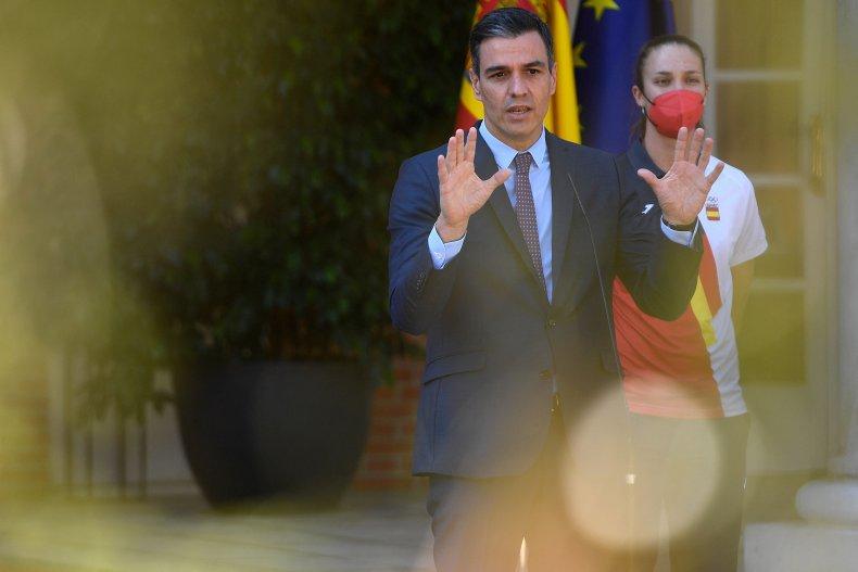 El primer ministro español Sánchez no está en la Casa Blanca