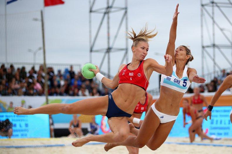 Norwegian Women's Beach Handball Team