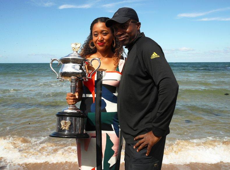 Naomi and Leonard Francois Osaka