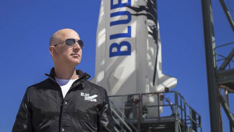 Jeff Bezos and Blue Origin