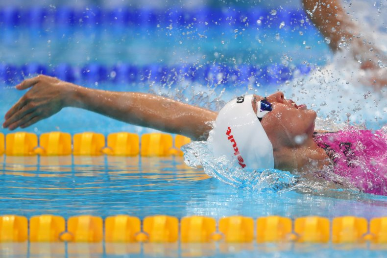 poland swimmers