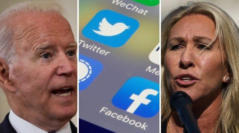 U.S. politicians row with social media firms