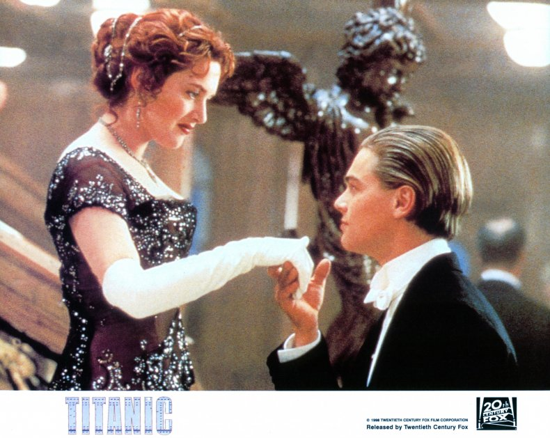 Rose and Jack from Titanic